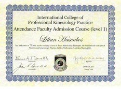 Faculty Training Certificate