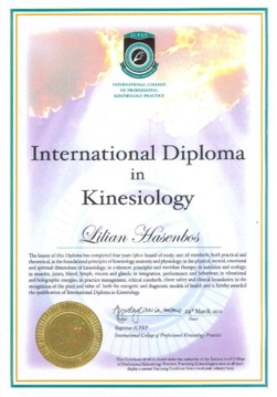 International Diploma of Kinesiology